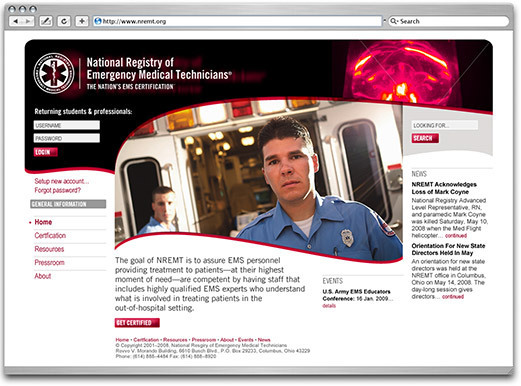 National Registry of Emergency Medical Technicians by Andre Murnieks
