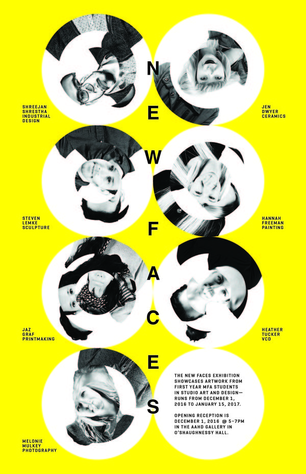 New Faces Exhibition 2016