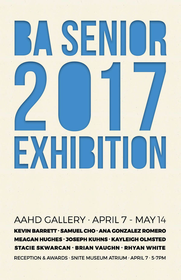 Ba Senior Exhibition 2017