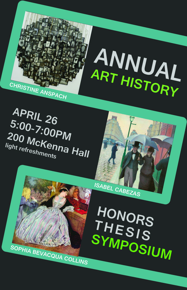Art History Honors Thesis Symposium