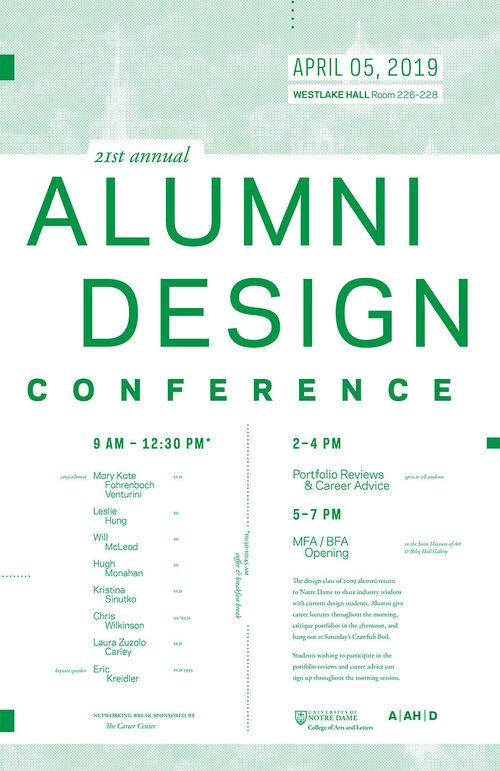2019 Alumni Design Conference