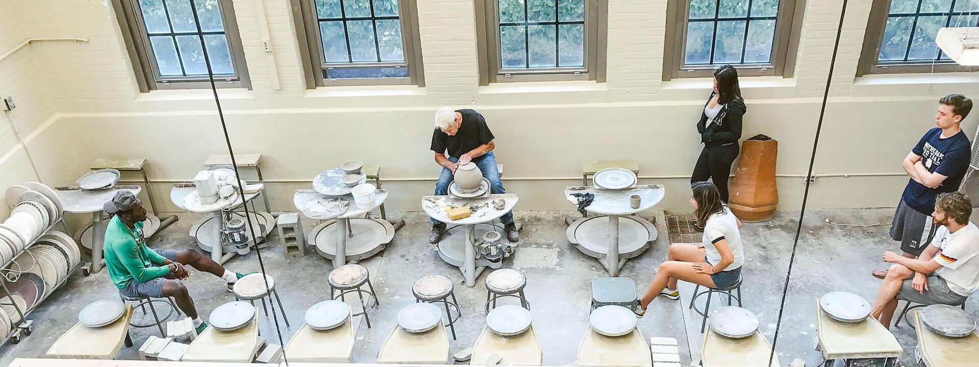 Ceramics Department Of Art Art History Design University Of Notre Dame