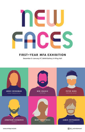 2019 New Faces Poster