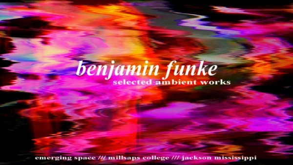Selected Ambient Works poster for Benjamin Funke's exhibition at Millsaps College