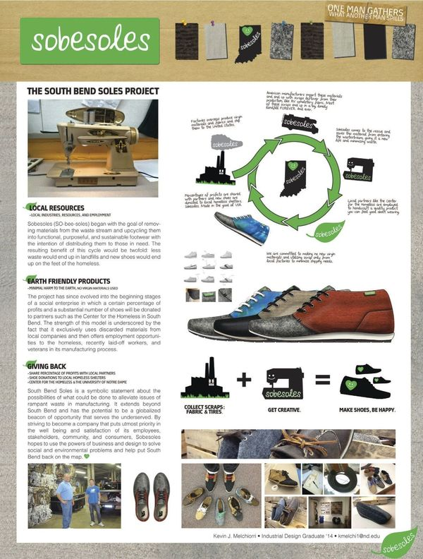 Industrial design students showcased in notre dame for Industrial design news