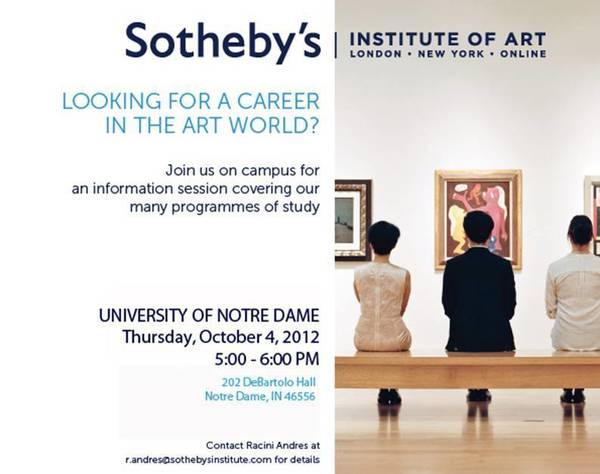 Sotheby's info session